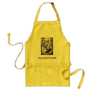 Jesus Loves the Chef Standard Apron