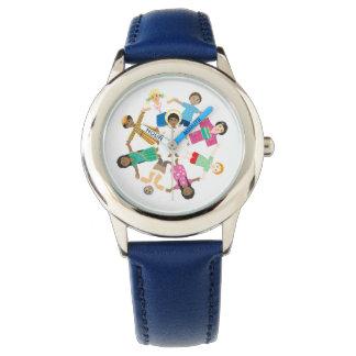 Jesus loves the children of the world wrist watch