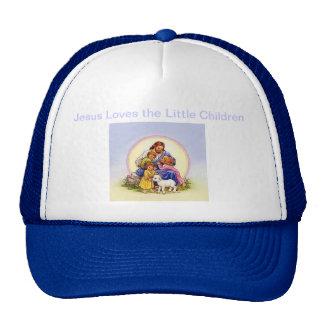 Jesus Loves the Little Children Mesh Hats