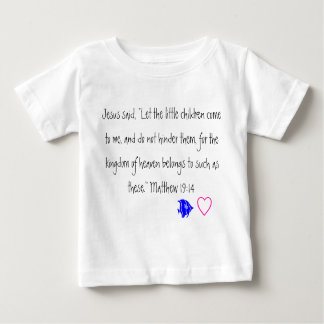 Jesus loves the little children- Toddler tshirt