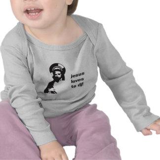 Jesus Loves To DJ - DJing Disc Jockey Music Shirts