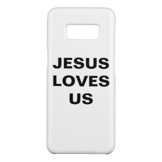 """Jesus Loves Us"" Samsung Galaxy S8 Case"