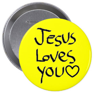 Jesus Loves You Pins