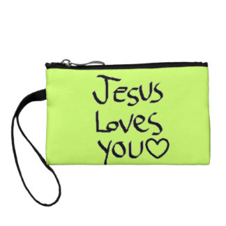 Jesus Loves You Coin Purse