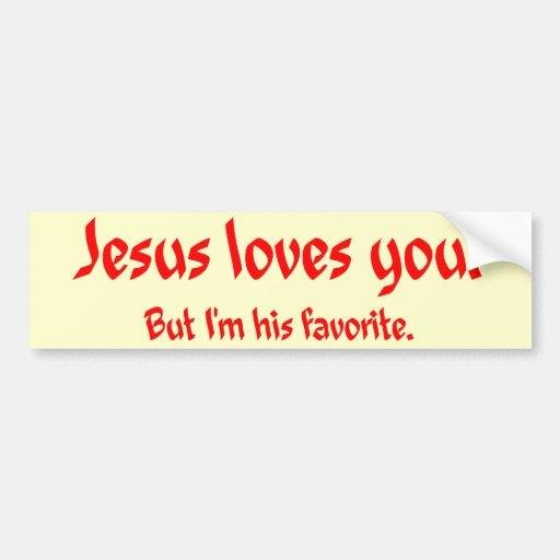 from Noah jesus hates gay bumper sticker