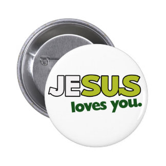 Jesus Loves you Buttons