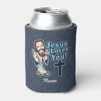 Jesus Loves You Can Cooler