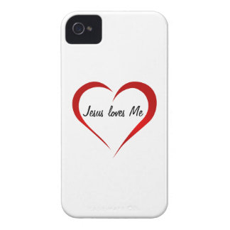 Jesus loves You iPhone 4 Case-Mate Case