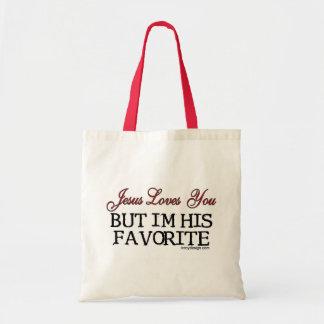 Jesus Loves You Favorite Tote Bags
