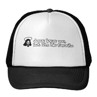 Jesus loves you trucker hats