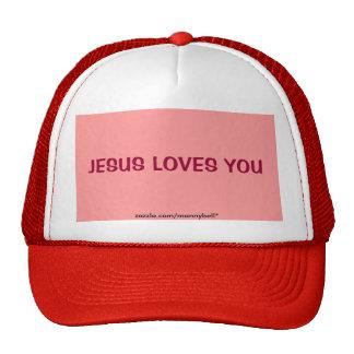 Jesus Loves You Hat