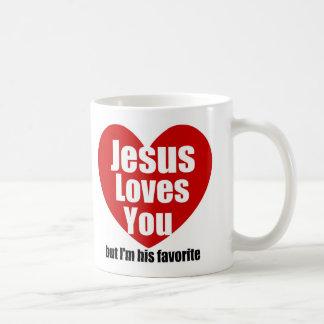 Jesus Loves You Mugs