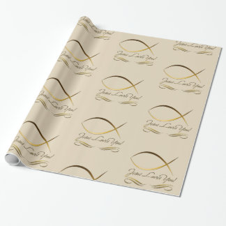 Jesus Loves You! Wrapping Paper