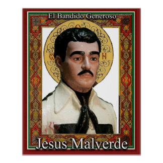 Jesus Malverde The Generous Bandit Poster