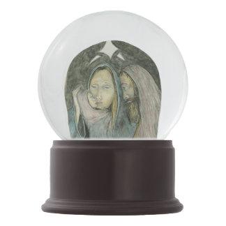 Jesus Mary Joseph Holy Family Nativity Christmas Snow Globe