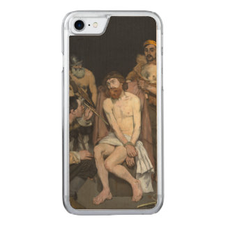 Jesus Mocked by the Soldiers by Edouard Manet Carved iPhone 7 Case