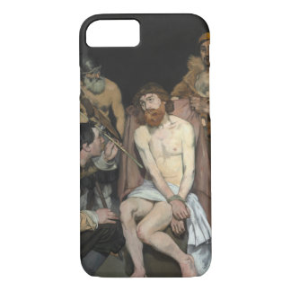 Jesus Mocked by the Soldiers by Edouard Manet iPhone 7 Case