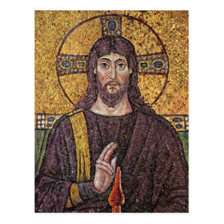 Jesus Mosaic Postcards