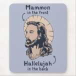 Jesus Mullet Mouse Pad