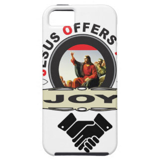 Jesus offers you joy logo iPhone 5 covers