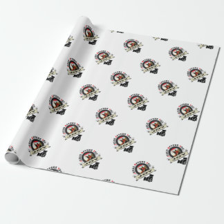 Jesus offers you joy logo wrapping paper