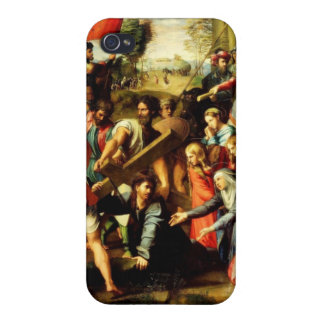 Jesus on his way to Calvary iPhone 4/4S Covers