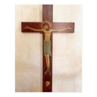 Jesus On The Cross Art Postcard