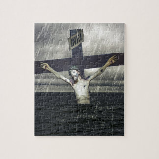 Jesus on the Cross at the Sea Puzzles