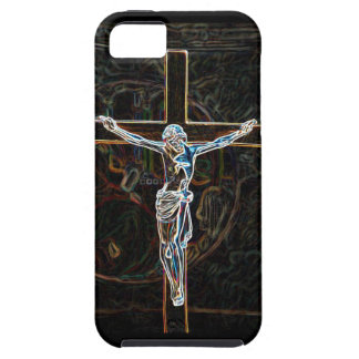 Jesus on the cross iPhone 5 covers