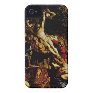 Jesus on the Cross iPhone 4 Case