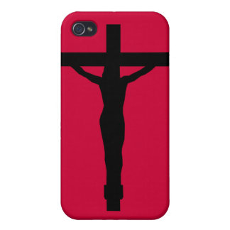 JESUS ON THE CROSS iPhone 4/4S COVERS