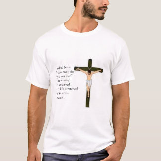 Jesus on the cross T-Shirt