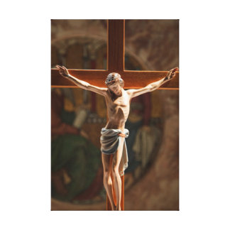 Jesus on the cross Wrapped Canvas Gallery Wrapped Canvas
