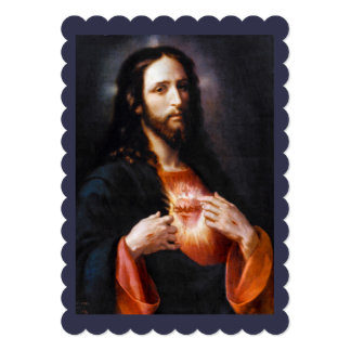 Jesus Opens His Heart to Us Card