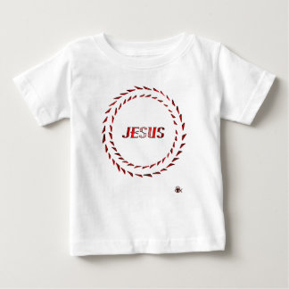 Jesus Optical Illusion Baby T-Shirt