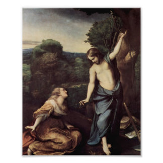 Jesus Outstretched Arms Photographic Print