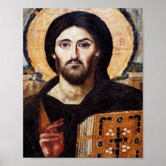 Jesus Pantocrator Poster