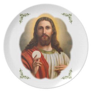 jesus plate