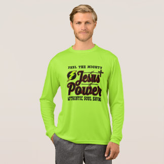 Jesus Power Competitor Long Sleeve Shirt