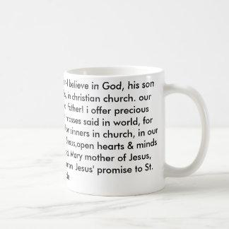 Jesus' prayer /help save 1,000 souls christian mug