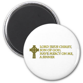 Jesus Prayer with Celtic Cross Magnets
