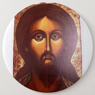 Jesus Profile 6 Cm Round Badge
