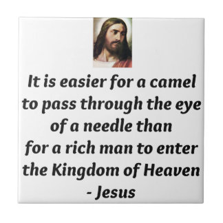 Jesus Quotes Small Square Tile