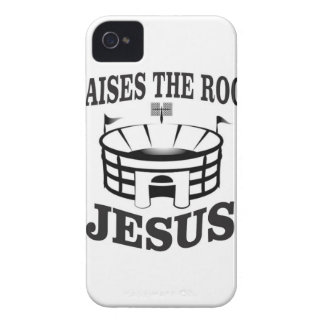 Jesus raises the roof yeah iPhone 4 case