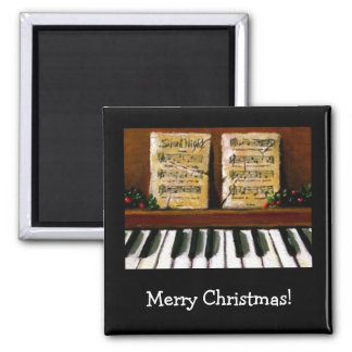 JESUS REASON FOR SEASON: PIANO: ART SQUARE MAGNET