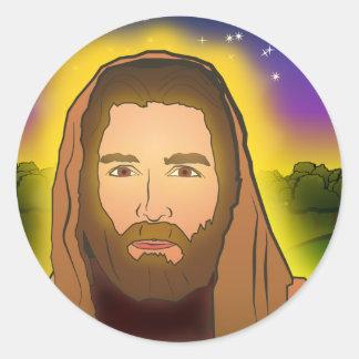 Jesus: Resurrection Morning Round Sticker