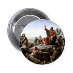 Jesus 's Sermon-on-The-Mount-by-Bloch 6 Cm Round Badge