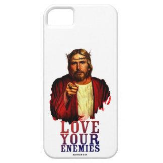 JESUS SAID LOVE YOUR ENEMIES CASE iPhone 5/5S COVER