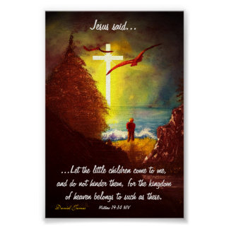 Jesus Said Poster