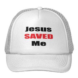 Jesus Saved Me Hat